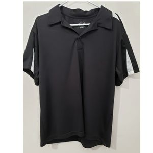 BCG Black & White Polo Shirt